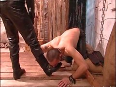Kinky dudes enjoys bdsm games