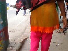 las mujeres de Bangladesh desde detrás