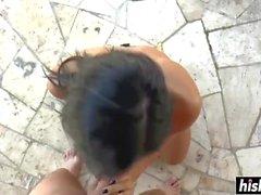 Black Sophie har en rasande boner