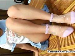 Vietnamese junges Mädchen Amateur Cam Show Teil2