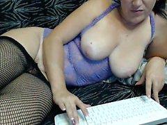 Webcam Saksan Tyttö Fingers Herself
