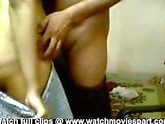 Cute indian girl having ass fucking