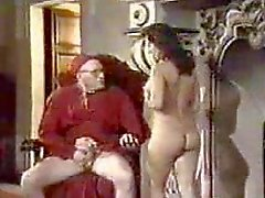 Retro Oral Creampie with Nun