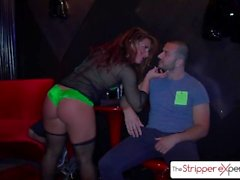 The Stripper Experience - big booty Savannah Fox is fucked by 2 big dicks