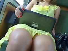 Rock geschaut Trainiere Yellow Dress eins