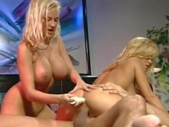 Jill Kelly and Stacy Valentine Threesome