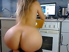 Grand et gros ass crosse rondes PAWG