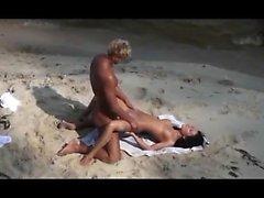 Amatör kız, mastürbasyon, halk plajı