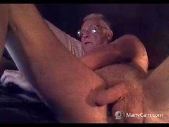colpo del nonno in webcam