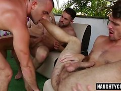 Hot gay ass to mouth and cumshot
