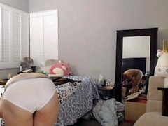 Anal Sex Kuuma blondi masturboida webcam kanssa dildo