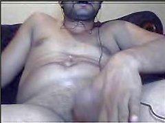Pakistani Guy Farhan jerking on webcam