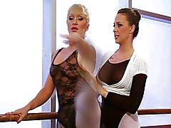 Лесбиянки балерины