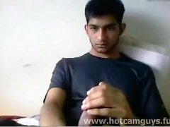 Super Cute Indian Guy Jerks off on Cam - Part 1