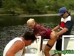 A Boat olarak Sex için horny People Meeting fazla