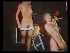 Vintage British strip show