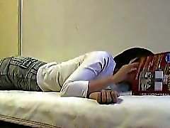 Asian Slut Wichs Die Im Bett