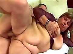 BBW Granny Pussy Phantasie Treffen mit großen Schwanz