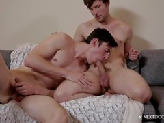 Bi-Curious First Timer Rimmed and Drilled by Scotty Zee