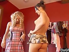 Traviesos Personal Shopper Cogido Acariciar los la cliente