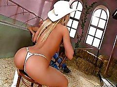 Zet je pik cowboy