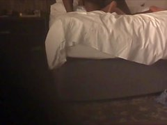 casal negro no hotel