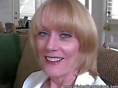 Maduras Amateur Ama de las golondrinas eyaculación
