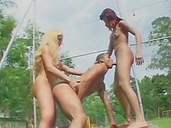 Transsexual Big Dick Threesomes 2 - Scene 1