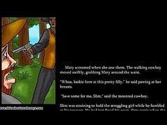 Обман жены трахает черного ковбоя 2