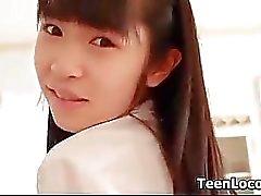 Asian Schoolgirl Being A Tease