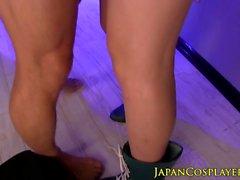 De Sailor japoneses Jupiter facialized