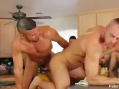 Jessie and Diego Fuck hard in the kitchen