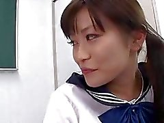 Aika Hoshino likes blowing cock and swallowing jizz