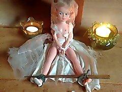 Diciotto anni bondage bambola di antica la sposa