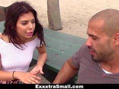 ExxxtraSmall - Petite Latina brutalmente follada