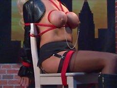 Dannii Harwood Breast Bondage Deluxe