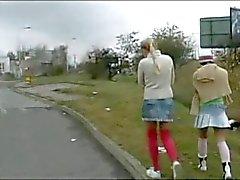 Sexy di lesbica PLAY del Bus! ! !