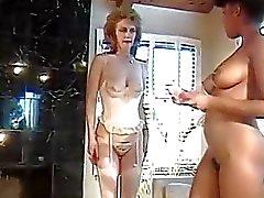 Clássico Maduras Lésbica Sex Party