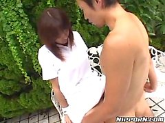 Japanese outdoor hot porn