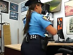 Guy offered money to fuck police officer in his pawnshop