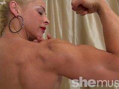 Femme Bodybuilder Jill Jaxen Obtient nu