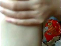 Sevimli Çinli genç web'de dans ediyor Kittie LIVE, 720camscom'da