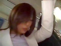 Японское общество секса в автобусе