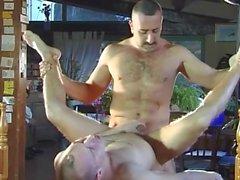 Horny Homosexuell Dudes fucking im Garten
