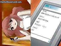 Onschuldige kleine anime brunette Babe part2