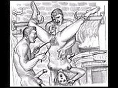 BDSM Porn Зарисовки