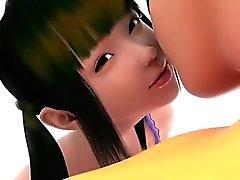 De suporte da menina - mais quente da archive relações sexuais 3D do de anime