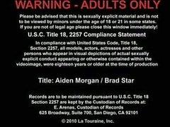 Los hotties Brad estrellas Se se folla Aiden Margan .
