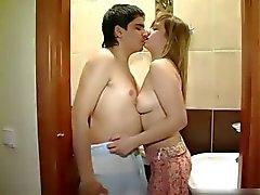 Banyoda yeni çift lanet
