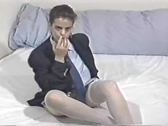 Nilli Willis strips and plays 2